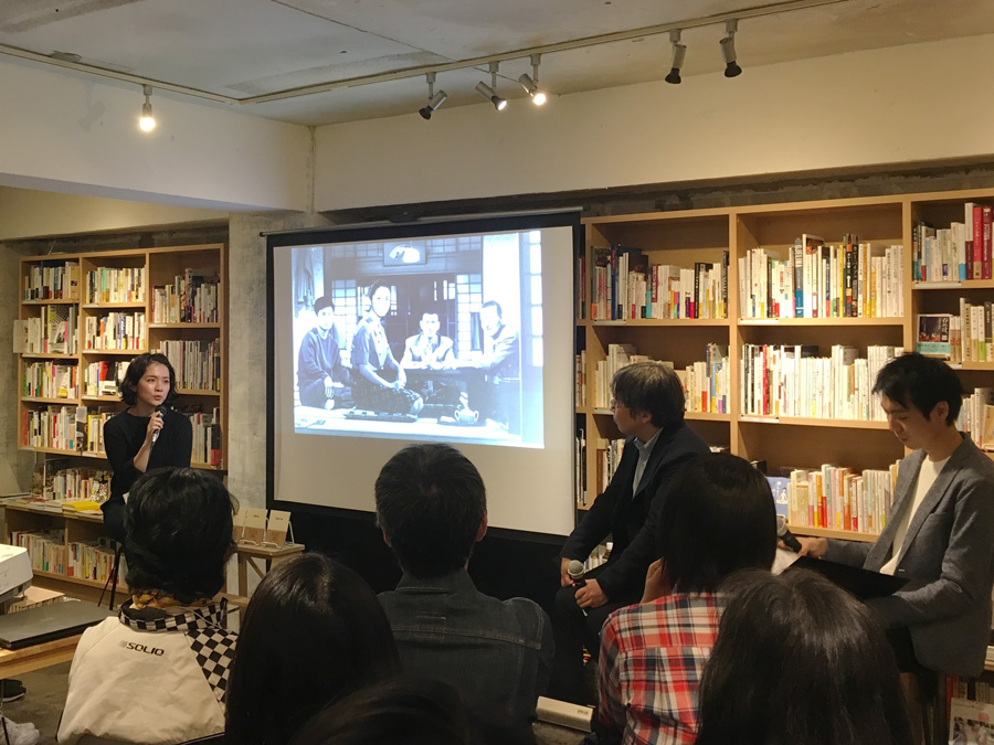 かもめブックス 小津安二郎監督 MUJI BOOKS刊行記念イベントレポート