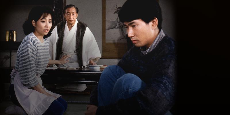 人々 蓮台寺の住職・泰道(松村達雄)
